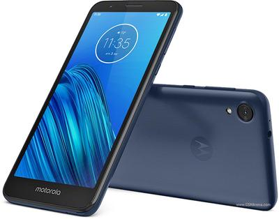 The smooth, dulcet tones of 2019's Moto E6.